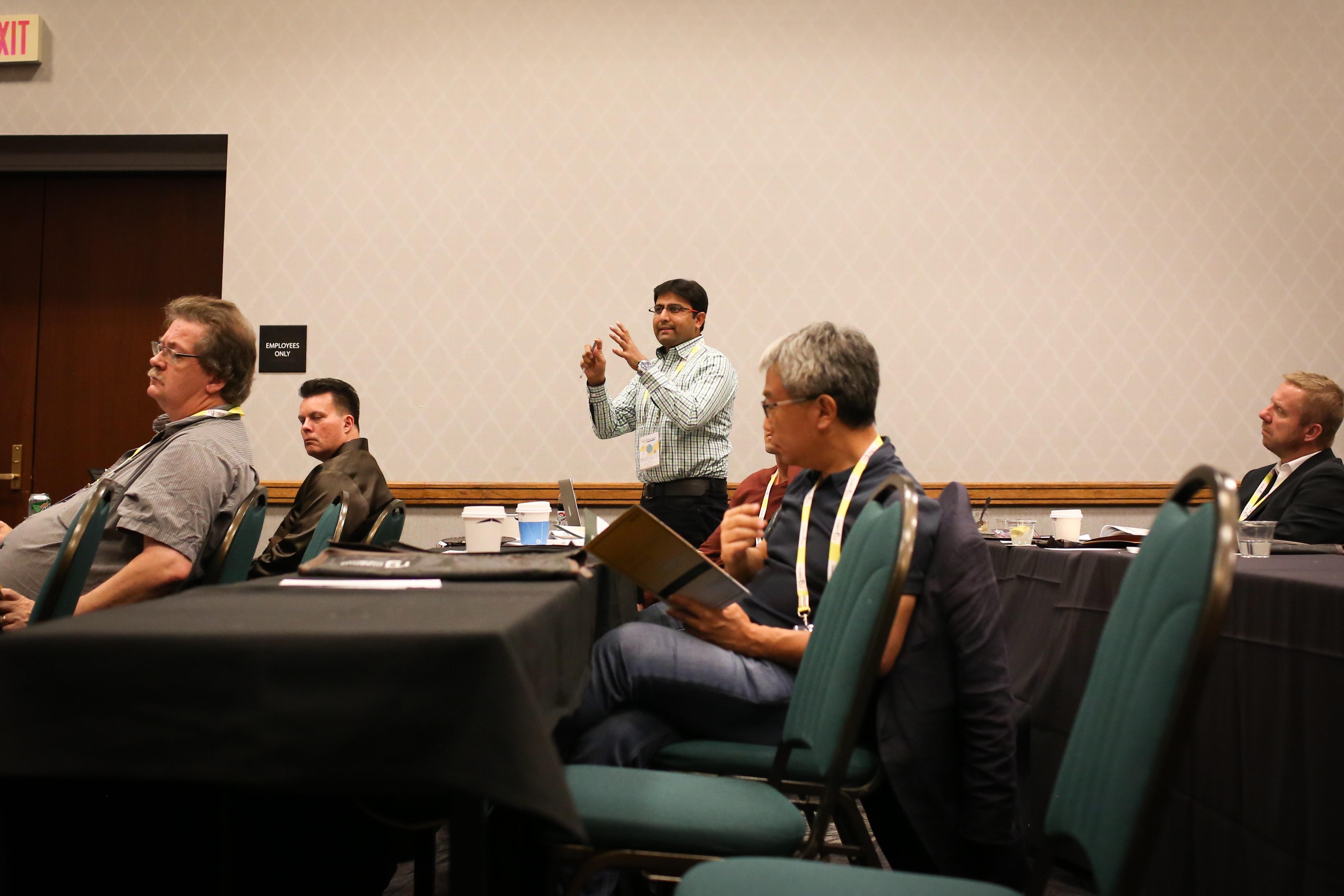 GCR 2017 speaker query session