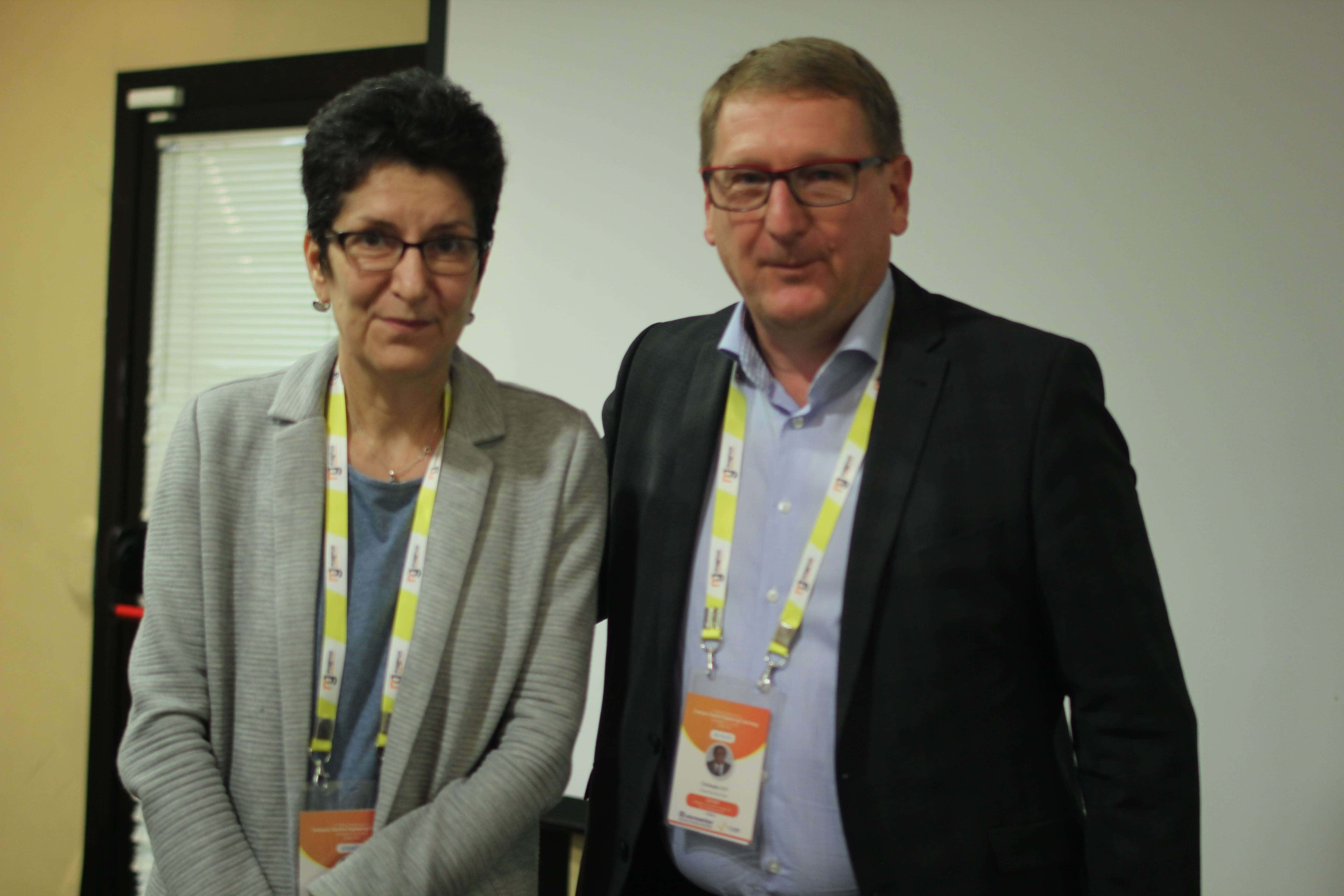 Anca Duta and Christophe LEN