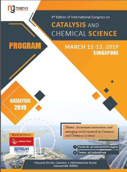3rd Edition of International Congress on Catalysis and Chemical Science