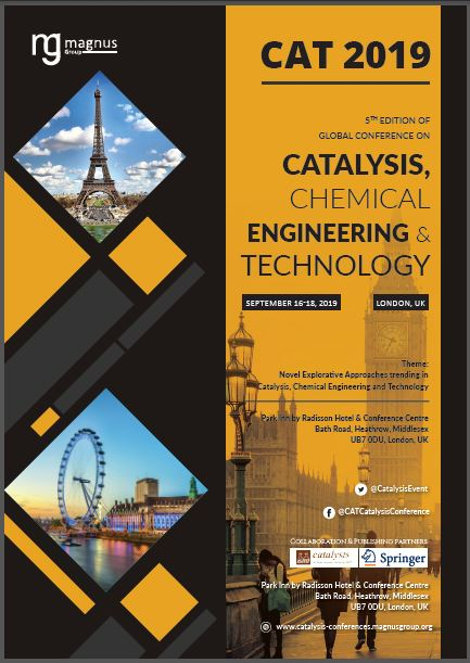 5th Edition of Global Conference on Catalysis, Chemical Engineering & Technology Book